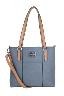 Boyne City Handbag - Dusty Blue