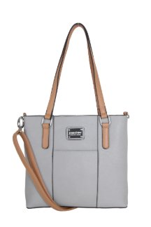 Boyne City Handbag - Farmhouse Gray