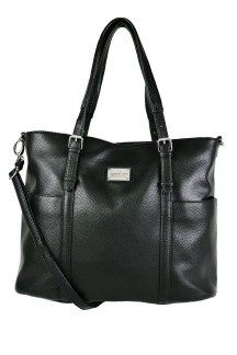 Commerce Tote - Jet Black