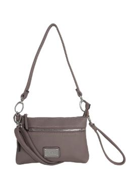 Cross Village Handbag - Mocha