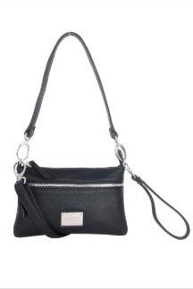Cross Village Handbag - Night Sky Black