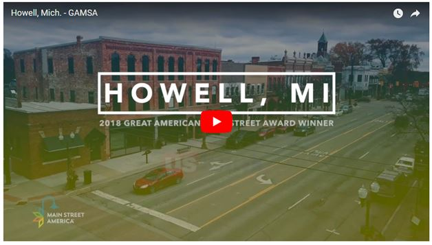 2018 Great American Main Street Award!!
