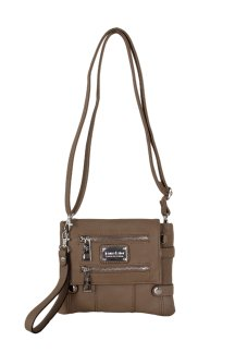 Greektown Crossbody|Wristlet - Clay