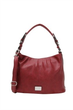 Grayling Crossbody|Hobo - Sangria Red