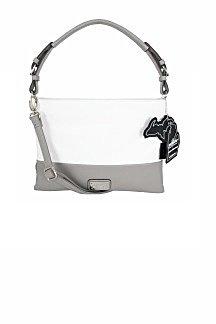 Harbor Springs Handbag - Graphite Gray/Black Licorice