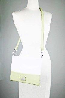 Harbor Springs Handbag - Lime/White