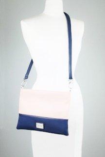 Harbor Springs Handbag - Regatta Blue/Pink