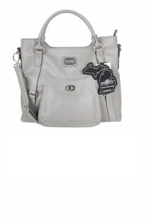 Huntington Handbag - Ash Gray