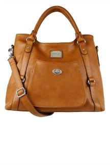 Huntington Handbag - Rustic Tan