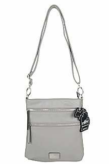 Mackinac Bridge Crossbody - Ash Gray