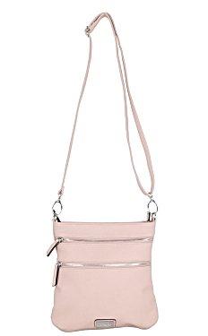 Mackinac Bridge Crossbody - Cotton Candy Pink