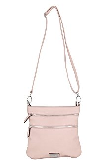 Mackinac Bridge Crossbody - Cotton Candy Pink