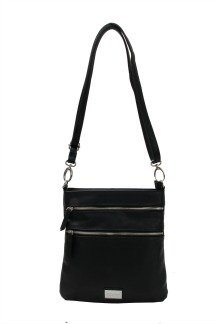 Mackinac Bridge Crossbody - Black Licorice