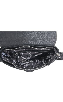Olivet Crossbody - Night Sky Black (Top)