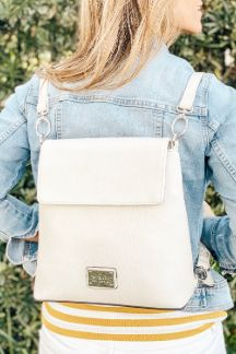 Petoskey Backpack - Cream