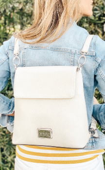 Petoskey Backpack - Cream (Backpack)