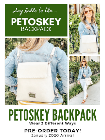 Petoskey Backpack (Pre-Order) - Cream