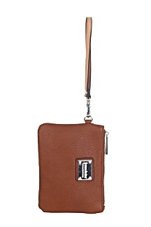 Saugatuck Wristlet - Rustic Tan