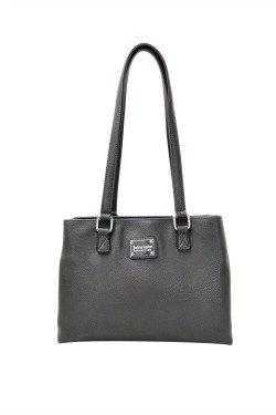 Sault St. Marie Handbag - Graphite Gray