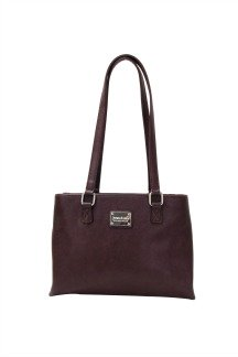 Sault Ste. Marie Bridge Handbag - Plum
